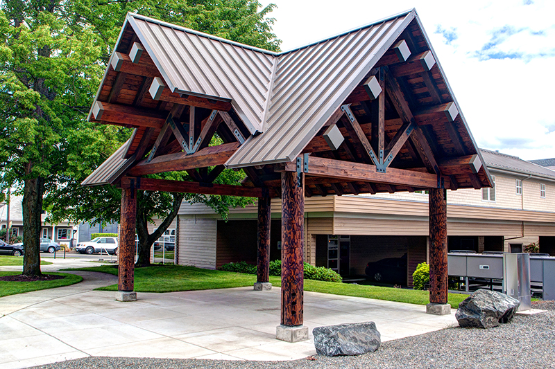 Legends Roofing In Old Town Park In Tacoma